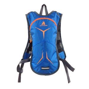 Mochila Altitude Hidratación 1.5 L Azul/Naranja