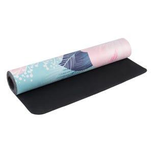 Mat Yoga Rubber Suede Blu Fit Estampada