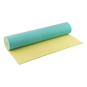 Mat Yoga Blu Wellness Reversible Verde