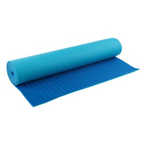 Mat Yoga Blu Wellness Reversible Azul