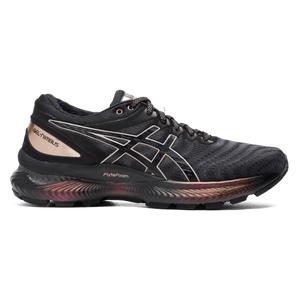 Zapatillas Running Mujer Asics Gel-Nimbus 22 Platinum Negro