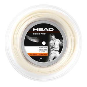 Rollo de Cuerda Tenis Head Sonic Pro Blanco