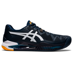 Zapatillas Tenis Hombre Asics Gel-Resolution 8 Clay Azul Marino