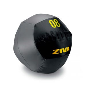 Pelota Training Ziva Wall Ball 10 kg Negro/Gris
