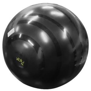 Pelota Fitness Blu Fit Gym Ball 65 cm Negra