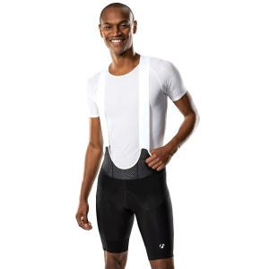 Calza Larga Ciclismo Hombre Bontrager Velocis Bib Negro