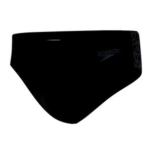 Traje de Baño Hombre Speedo BoomStar Splice 7cm Brief Negro