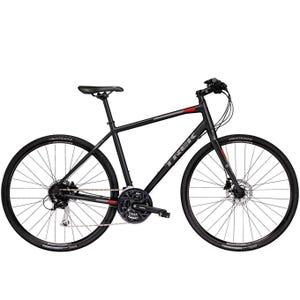 Bicicleta Urbana Trek FX 3 Disco Negra 2018