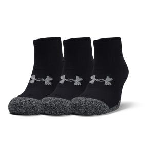 Calcetines 3 Pares Unisex Under Armour Heatgear Negro