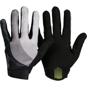 Guantes Ciclismo Mujer Bontrager Full-Finger Mountain Celeste