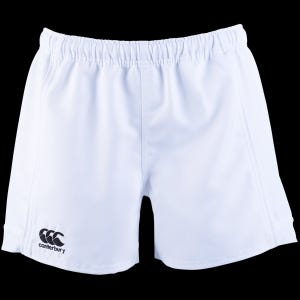 Short Rugby Hombre Canterbury Advantage Blanco