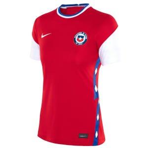 Polera Fútbol Mujer Nike Chile Local 2020/2021 Rojo