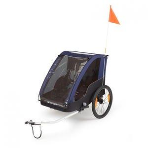 Carro Porta Bebé Polisport Trailer/Stroller Gris/Azul