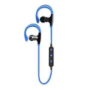 Audífonos Deportivos Bluetooth Blu Fit Azul