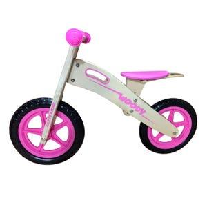 Bicicleta Aprendizaje Niña Altitude Woody Rosado