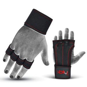 Calleras Fitness Blu Fit Power Grip Plus Negro