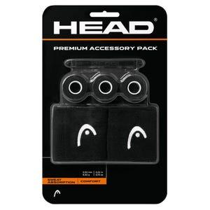Pack Premium de Accesorios Tenis Head Negro