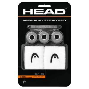 Pack Premium de Accesorios Tenis Head Gris