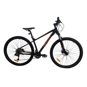 Bicicleta MTB Hiland Pro XT275 Negra/Naranja