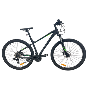 Bicicleta MTB Hiland Ultra XT275 Negra/Verde