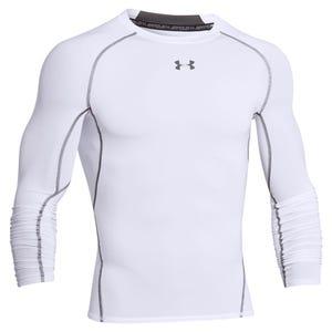 Polera Compresión Hombre Under Armour Heatgear® Armour Blanca
