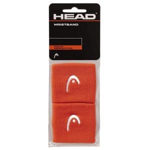 Muñequera para sudor Tenis Unisex Head 2,5'' Naranja