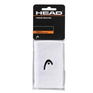 Muñequera para sudor Tenis Unisex Head 5'' Blanco