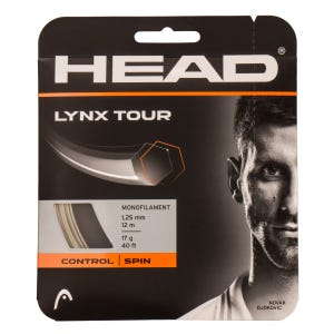 Cuerda para Raqueta Tenis Head Lynx Tour 17 gr Beige