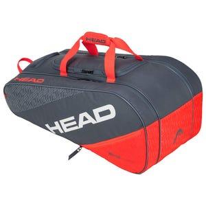 Bolso Tenis Head Elite Allcourt Gris/Rojo