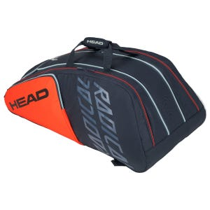 Bolso Tenis Head Djokovic 12R Radical  Monstercombi Naranjo