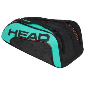 Bolso Tenis Head Djokovic 12R Tour Team BKTE Monstercombi Negro