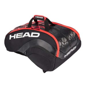 Bolso Head Delta Bela Monstercombi Negro/Naranjo