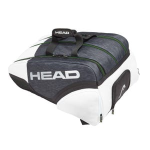 Bolso Padel Head Alpha Monstercombi Blanco/Negro