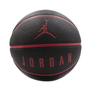 Balón Básquetbol Nike Jordan Ultimate 8P N°7 Negro/Rojo