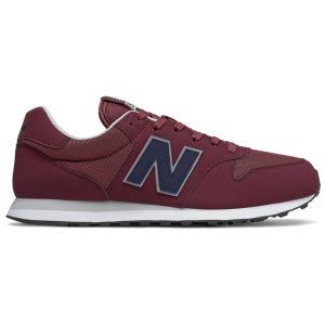 Zapatillas Urbanas Hombre New Balance 500 Rojo