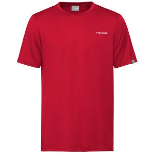 Polera Tenis Infantil Head Easy Court Rojo