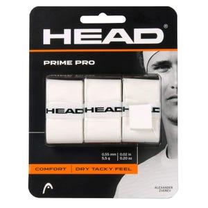 Grip Pack Tenis Head Prime Pro Blanco