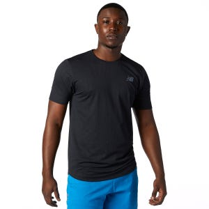 Polera Running Hombre New Balance Q Speed Negro