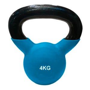 Pesa Rusa Kettlebell Blu Fit 4 kg Azul