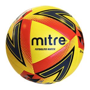 Balón Futbolito Match Mitre N 5 Amarillo