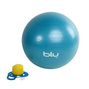 Pelota Fitness Blu Fit Gym Ball 65 cm Azul
