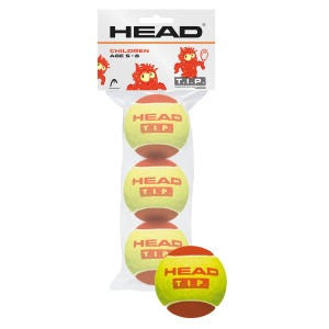 Pelota de Tenis  Head T.I.P. Red