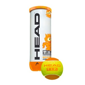 Pelota Tenis Head Tip Orange