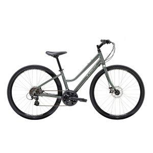 Bicicleta Trek Verve 1 Disc Low Step Gris