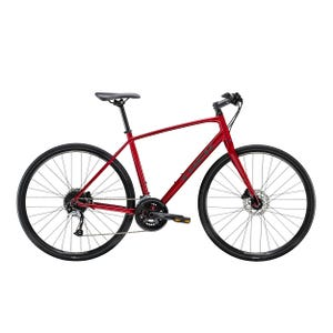 Bicicleta Urbana Trek FX 3 Disc Roja