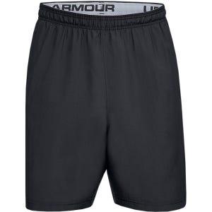 Short Training Hombre Under Armour UA Woven Wordmark Negro