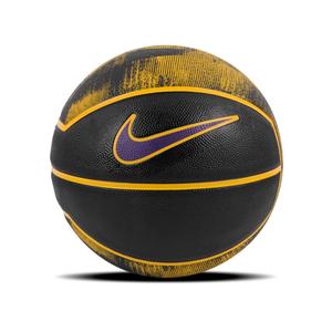 Balón Básquetbol Nike Lebrón Playground 4P Negro/Amarillo/Púrpura