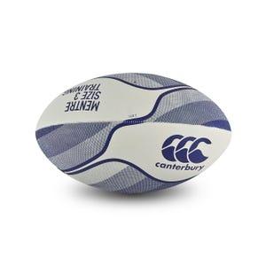 Balón Rugby Canterbury Mentre N°3 Blanco/Azul