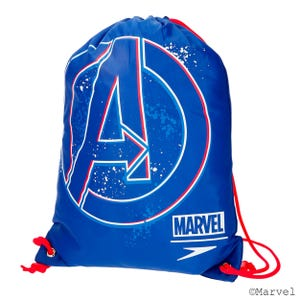 Gymsack Niño Natación Speedo Wet Kit Avengers Azul