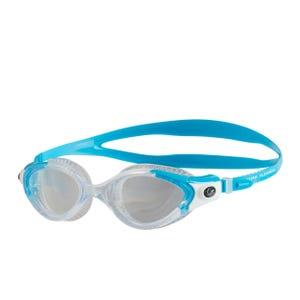 Anteojos Mujer Natación Speedo Biofuse Flexiseal Azul